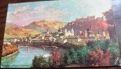== Salzburg   Von Mülln Festung , Auf Künstler AK   Tucks Oilette  No.621 B - Salzburg Stadt
