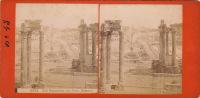Forum Romain Rome Italie Par Fratelli Beretti - Stereoscopic