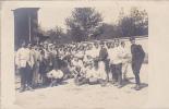 18701 Carte Photo Troupe Militaire , Sans Doute En Corvée De Pomme De Terre. Aucune Indication