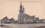 18727 CHELUN  EGLISE Facade Ouest Et Place. Mary Rousseliere 5162