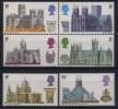 Du N° 563 Au N° 568 De Grande Bretagne - X X - ( E 749 ) - Eglises Et Cathédrales