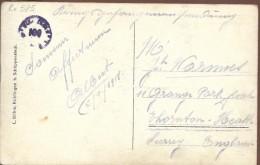 *Rv986: Beernem - De Statiestraat  Rue de la Station  Ed L�on Van Parys, Beernem... met lichte plooi...