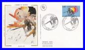 Enveloppe 1er Jour (GF-PJ) - L´homme De Tautavel - N° 2759 (Yvert) - France 1992 - 1990-1999