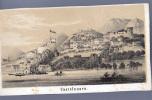 Montenegro Crna Gora    CASTELNUOVO     Before Postcards      Old Graphic  1846. - Montenegro
