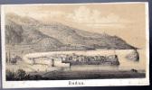 Montenegro Crna Gora    BUDUA  BUDVA     Before Postcards      Old Graphic  1846. - Montenegro