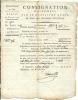 CONSIGNATION 4 EM QUART DOMAINES NATIONAUX . 83 - Bills Of Exchange