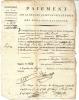 PAIEMENT SUR LE 4 EM QUART DOMAINES NATIONAUX . 83 - Bills Of Exchange