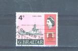 GIBRALTAR  -  1967  Ships  4d  FU - Gibraltar