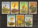 LESOTHO,  Fleurs,aloès Y-T 323 à 329 ** MNH - Végétaux
