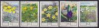 Russia CCCP  1975 Mi.nr. 4428-4432  Used  Flowers Bloemen Blumen - Francobolli