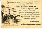 PIEMONTE - TORINO - Nole Canavese-  Cartoncino Invito Veglia Danzante 1908 - Sin Clasificación
