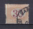 3RG1 - REGNO 1890 , Segnatasse 30  Cent  N. 23 : DECALCO Della Cifra - 1878-00 Humberto I
