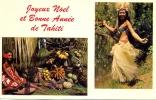 POLYNESIE FRANCAISE . TAHITI  . FRUITS DE TAHITI . MISS TAHITI 1964 . MISS LEA AVEEMAI - Polynésie Française