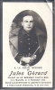 Guerre 40/45 - Marneffe  -  Soldat Jules Gérard  Né En 1916, Dcd En Captivité En 1941 - Images Religieuses
