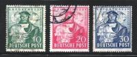 GERMANY 1949 Used Stamp(s) Hannover Export Fair Nr. 103-105 - [7] Federal Republic