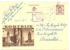 Entier Postal - PUBLIBEL 975- Publicité KORTRIJK - COURTRAI 1952 (sf48) - Ganzsachen