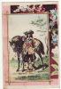CHROMO Armée Française Cavalerie Légère 1650 Cheval - Chromos