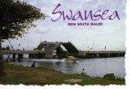 Swansea NSW -Pacific Highway's Double Opening Bridge Spans Lake Macquarie Entrance Used 2005 - Australie