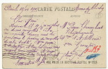 """Carte Guerre 1914 Vers Telephoniste Cachet """" Pas Pour Le Service Postal No 155 """" Paris - Post & Briefboten"""
