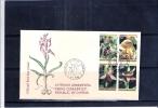 FDC Chypre - Orchidées Sauvages - Série Complète (à Voir) - Orchidées
