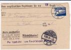 1925 - FORMULAIRE ADMINISTRATIF De WIEN Avec TAXE (NACHGEBÜHR) - Postage Due
