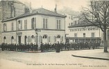 Paris : Rue Hallé, Rue D'Alembert, Ecole Secondaire ND Du Petit Montrouge. 2 Scans. Edition David - Paris (14)