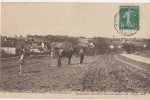 CPA 02 MONTREUIL AUX LIONS Vue De Sablonnières Travaux Des Champs Cheval 1910 - Unclassified