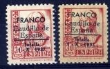 PATRIOTICOS   Tafalla  Nº 13 Papel Blanco Y Gris( Sin Charnela )- 001 - Nationalistische Uitgaves