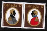 CANADA   Scott #  819-20**  VF MINT NH Pair - 1952-.... Règne D'Elizabeth II