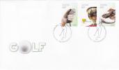 Australia-2011 Golf  Self Adhesive FDC - FDC