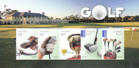 Australia-2011 Golf  Souvenir Sheet  MNH - Sheets, Plate Blocks &  Multiples
