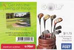 Australia-2011 Golf Sheetlet $ 2.35x5  MNH - Sheets, Plate Blocks &  Multiples