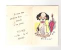 CALENDRIER  1929 ILLUSTRATION PETIT CHIEN - VOGUE  ALGER - - Calendriers