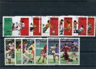 GUINEE BISSAU 1988-1989   12 Timbres - Football