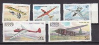PGL L0606 - RUSSIE Yv N°4933/37 ** - 1923-1991 USSR