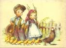 Fille - Garçon - Couple - Poule Et Poussins - Kinder
