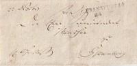 Brief Frankfurt A./O. Ca.1818 Gel. Nach Spremberg - Deutschland