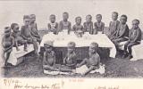 Children, A Tea Party, Durban, South Africa, 1900-1910s - Zuid-Afrika