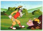 ILLUSTRATION WALD DISNEY DINGO  AU GOLF SUPERBE THEME LE GOLF - Disney