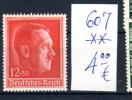 49° Anniversaire De Hitler,  607**, Cote 12,€, - Unused Stamps