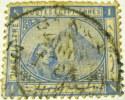 Egypt 1879 Sphinx And Pyramid 1p - Used - Égypte