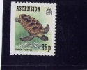 ASCENSION, 1989, # 481, GREEN TURTLE ----STAMP FROM BOOKLET  MNH - Non Classés