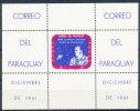 PARAGUAY 1961 SPACE S/S ALAN B. SHEPARD COSMONAUT SC# 616A VF MNH SCARCE - Paraguay