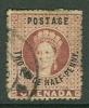 Grenada Victoria Stamp Used, Two Pence Half Penny, WM 3 - Grenada (...-1974)