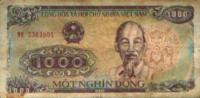 VIETNAM - 1000 Dong 1998 - Vietnam