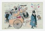 CPA XAVIER SAGER - En Route Pour L'Elysée - L'emménagement De M. Poincaré ( POLITIQUE SATIRIQUE ) - Sager, Xavier