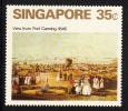 Singapore MNH Scott #147 35c View From Fort Canning 1846 - Singapour (1959-...)