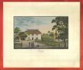 AA02 Ancienne Reproduction De Gravure Weiss 1829, Commune De Peney,Canton De Vaud, Suisse. - Estampes & Gravures