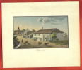 AA04 Ancienne Reproduction De Gravure Weiss 1829,Commune De Thierrens,Canton De Vaud, Suisse.Ferme,vaches - Estampes & Gravures