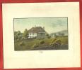 AA06 Ancienne Reproduction De Gravure Weiss 1829,Commune De Cully Lavaux,Canton De Vaud, Suisse. - Estampes & Gravures